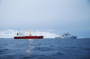 Coast guard Svalbard